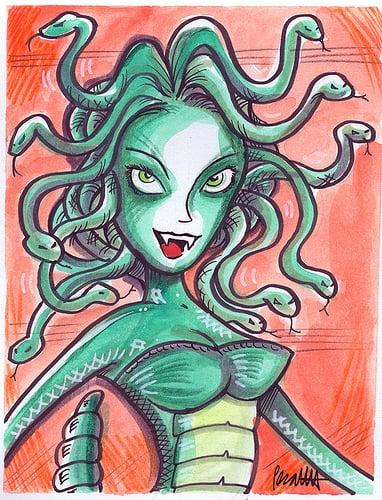 Halloween How-To: Medusa