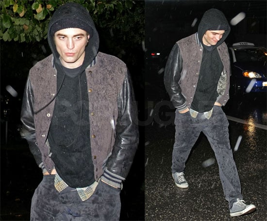 Photos of Robert Pattinson Out in Vancouver