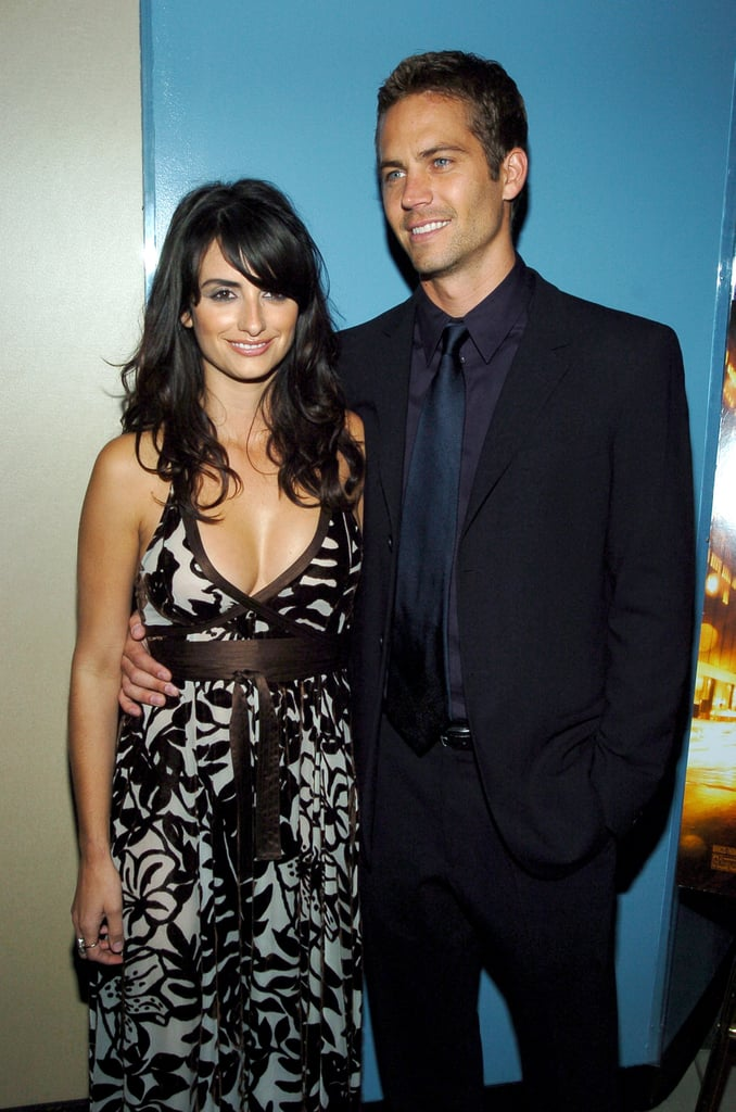 He and Penélope Cruz posed together at the NYC premiere of Noel in November 2004.