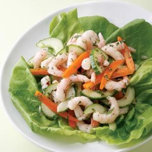 Mayonnaise-Free Shrimp Salad