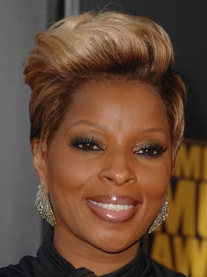 Pictures of Mary J Blige at the 2009 American Music Awards