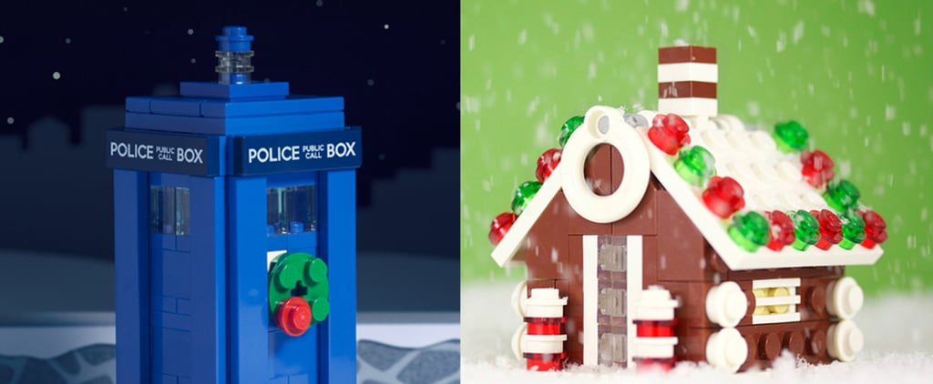 Build Your Own Lego Winter Wonderland