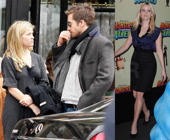Photos of Reese Witherspoon and Jake Gyllenhaal Shopping in Paris Before the Premiere of Monsters Vs. Aliens