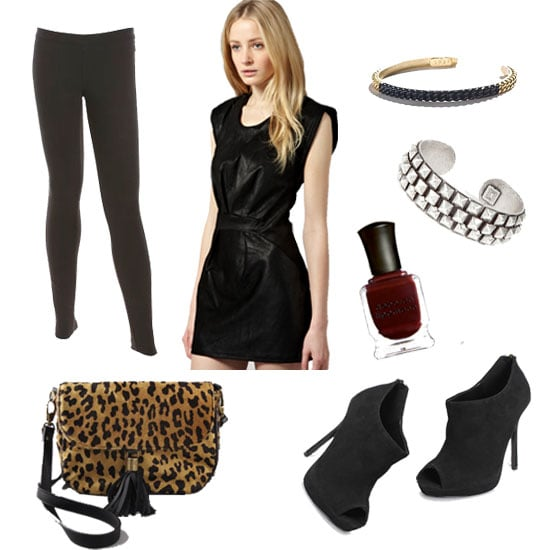 How to Wear Leggings: Night Out