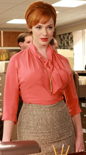 Christina Hendricks / Joan Holloway  in Mad Men Makeup Tutorial