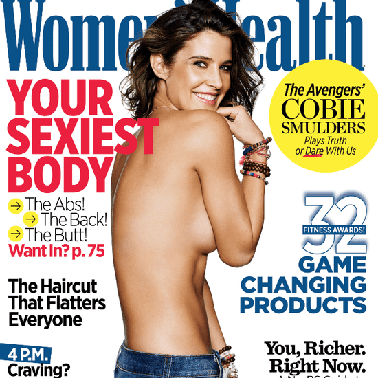 Cobie Smulders Women's Health Magazine Cover May 2015