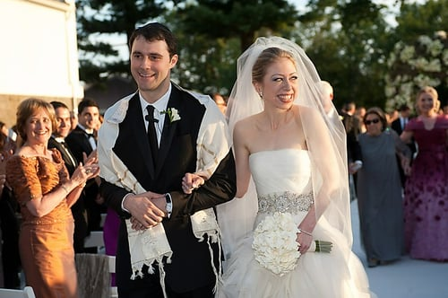 First Look | Chelsea Clinton Wedding Gown & Ceremony Photos