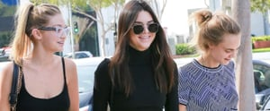 Kendall Jenner Took the Cake For Best Dressed on This Supermodel Fro-Yo Outing