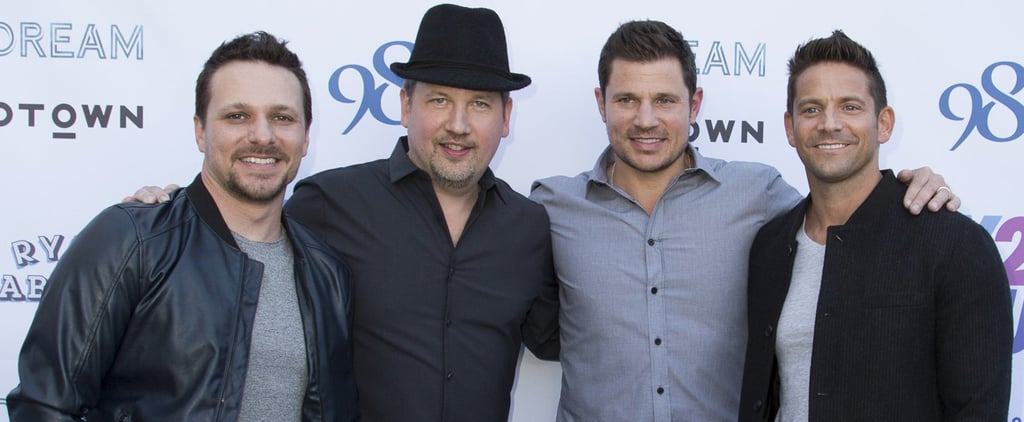 """Wait, What?! Joey Fatone Joined 98 Degrees to Perform *NSYNC's """"Bye Bye Bye"""""""