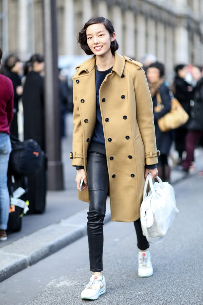 PFW Model Street Style Day Two