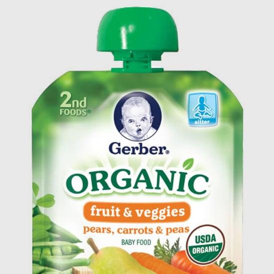 Gerber Organic Food Pouch Recall Alert
