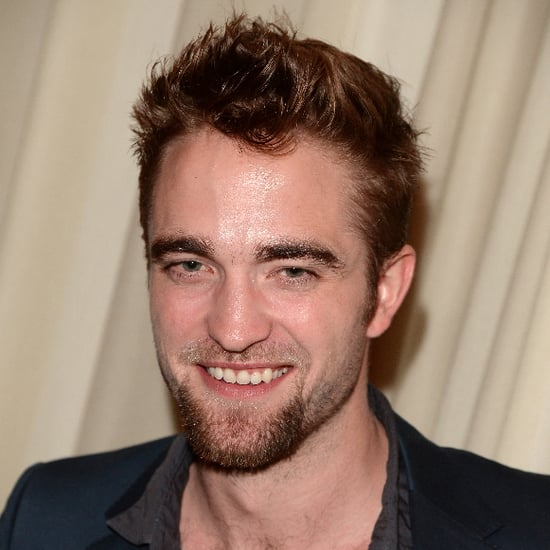 Robert Pattinson With a Goatee 2013