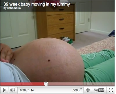 Remember How Your Baby Wiggled in Your Belly?