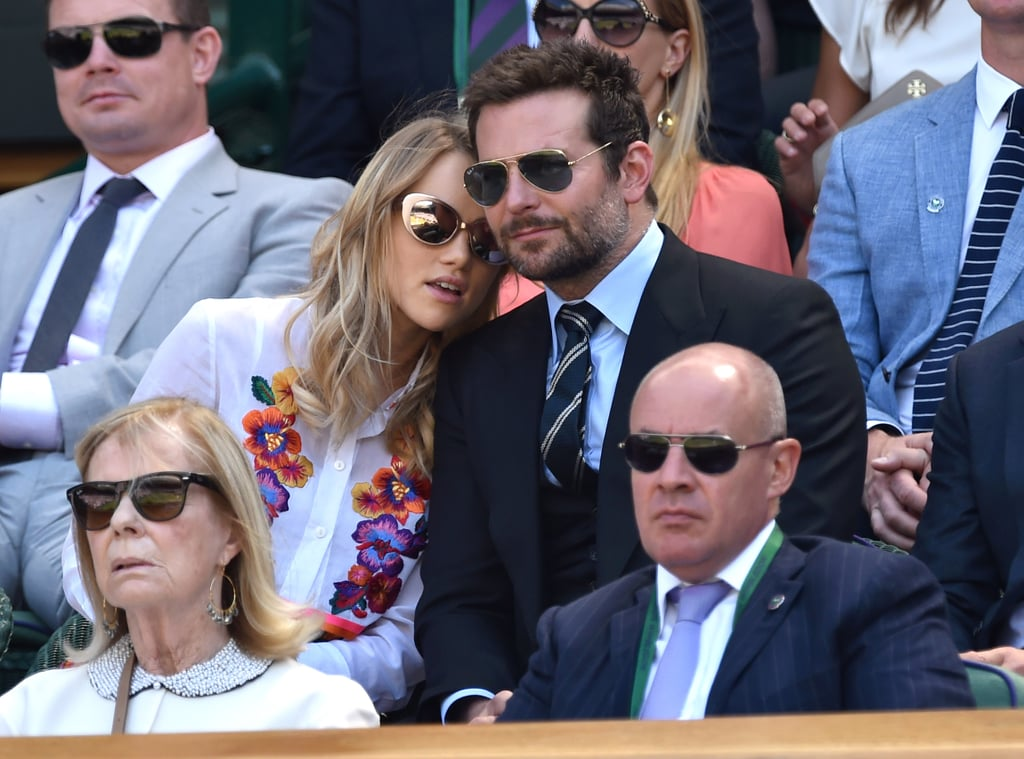All Eyes Were on Bradley Cooper and His Girlfriend at Wimbledon