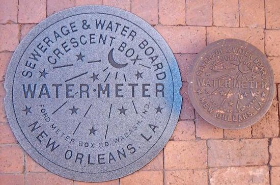 Cool Idea: New Orleans Water Meter Doormat