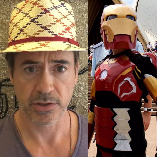 Robert Downey Jr. Helps Make-A-Wish Kid Become Iron Boy