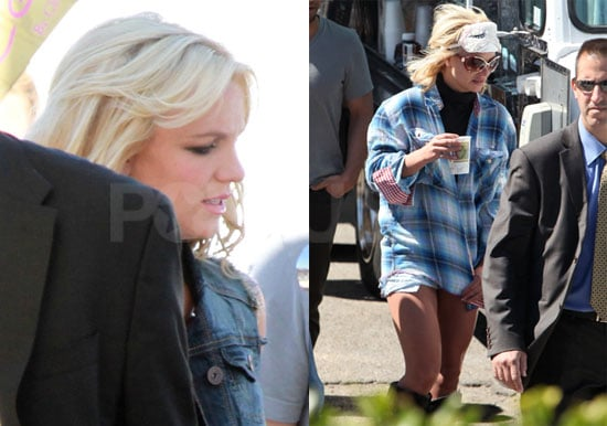 Pictures of Britney Spears Shooting Her Ad For Candie's