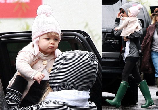 Photo of Nicole Richie and Daughter Harlow Madden Out in LA