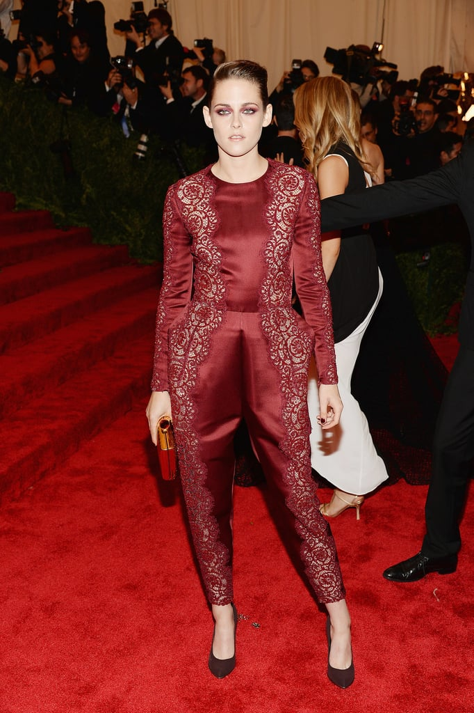Kristen Stewart at the 2013 Met Gala