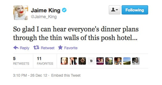 Posh doesn't necessarily equate to good quality, as Jaime King now knows.