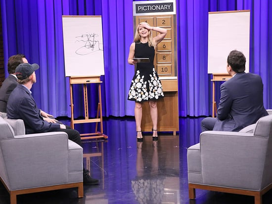Claire Danes Is Crazy Good at Playing Pictionary with Jimmy Fallon