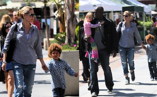 Heidi Klum and Her Cute Family Get That a Lot