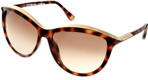 Michael Kors Tortoise Shell Cat Eye Sunglasses
