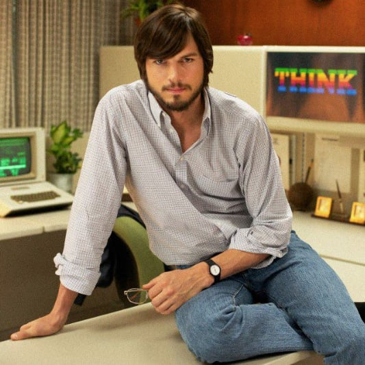 Ashton Kutcher as Steve Jobs | Video