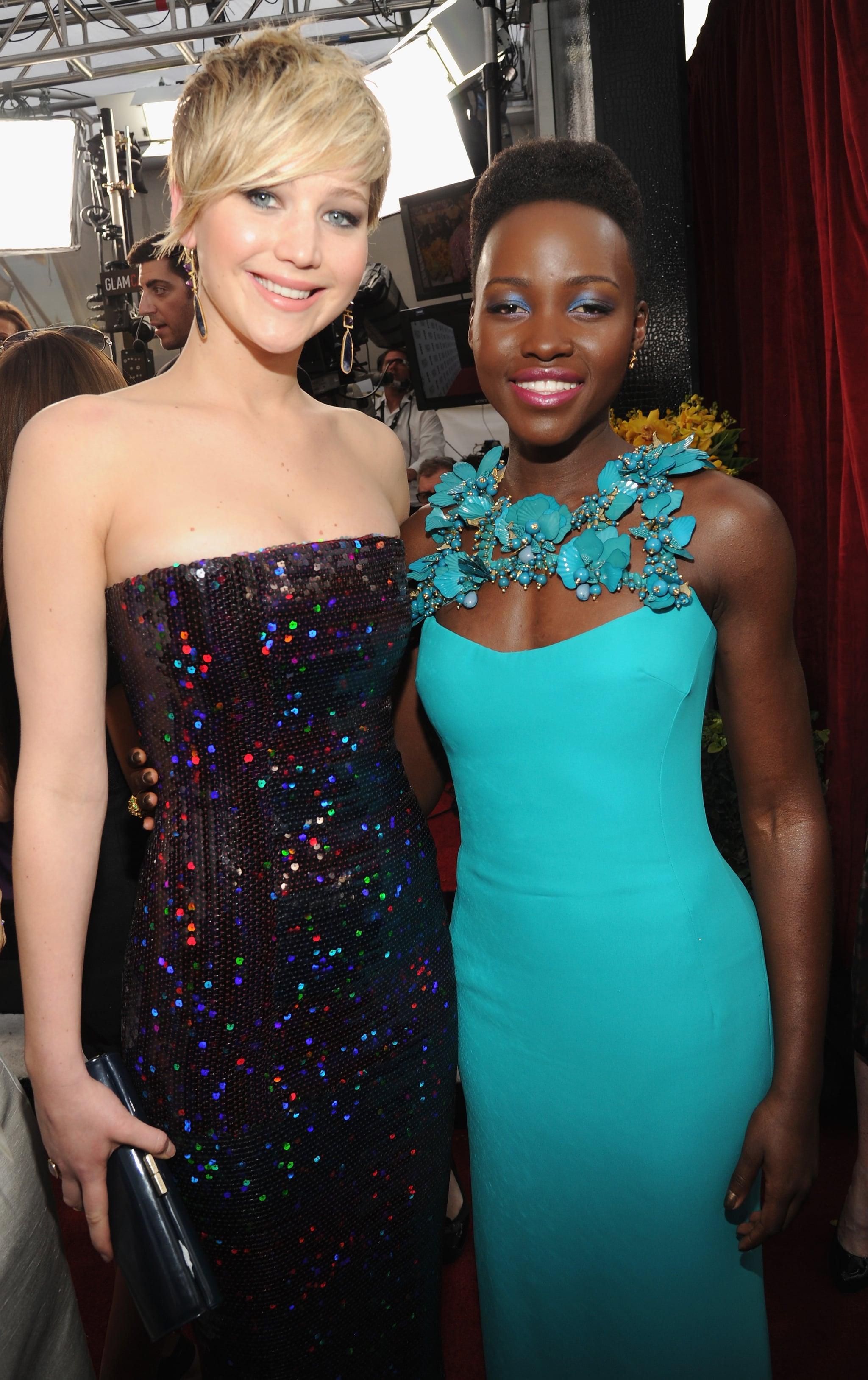 Jennifer Lawrence and Lupita Nyong'o made a gorgeous pair.