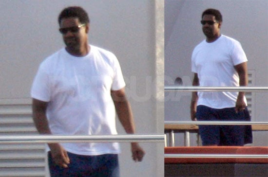 Denzel Gets In Pre-Awards Vacation