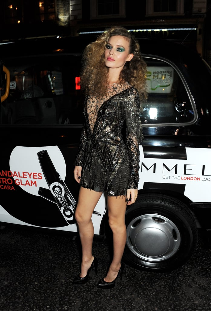Georgia May Jagger was on hand for the Rimmel London 180 Years of Cool party.