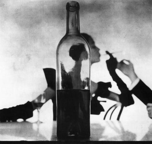 Man Lighting Girl's Cigarette, New York, 1949