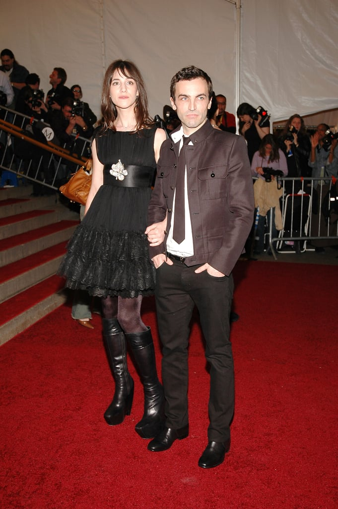 Designer and muse hit the red carpet at the 2006 Met Gala.