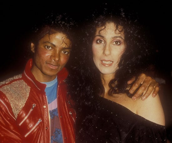 Michael and Cher hung out at the afterparty for the Dreamgirls stage opening in LA in 1983.