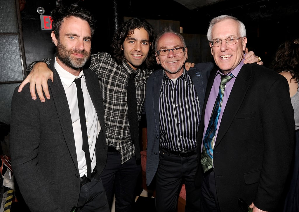 Adrian Grenier had director Matthew Cooke, author Brian O'Dea, and Eric E Sterling on hand to celebrate after the premiere of How to Make Money Selling Drugs.