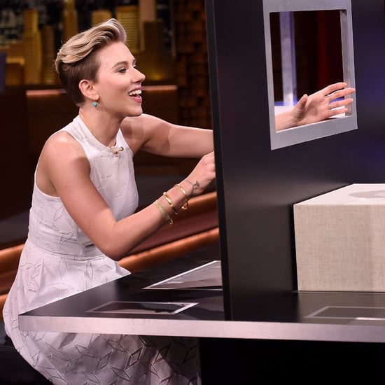 Scarlett Johansson and Jimmy Fallon Play Box of Lies