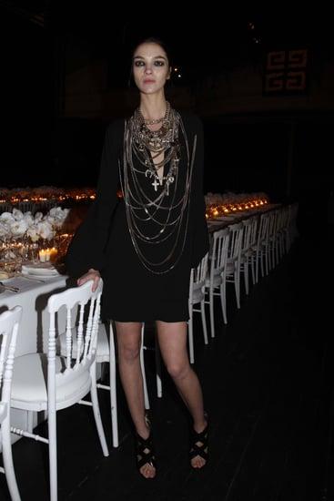 Freaky or Fabulous? Mariacarla Boscono Gone Goth