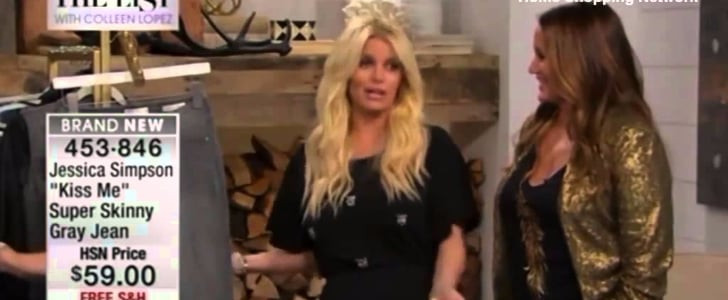 Jessica Simpson Slurs Her Words on HSN — Do You Think She Was Drunk?