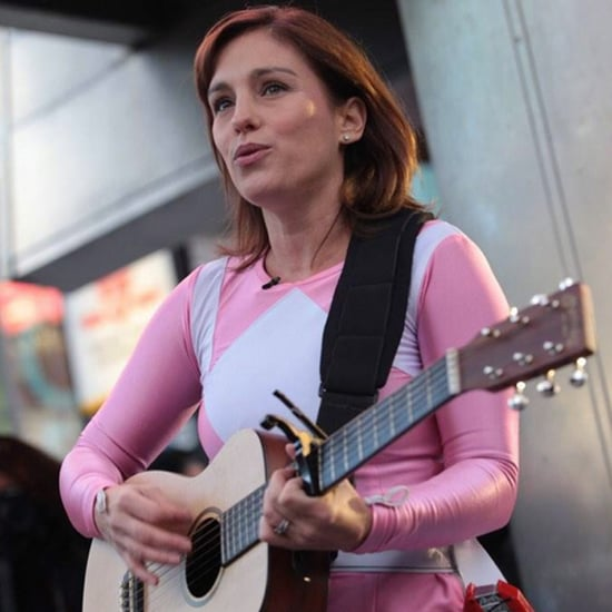 Amy Jo Johnson Sings as the Pink Power Ranger