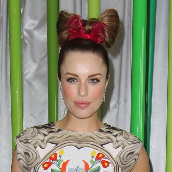 Pictures of Jessica McNamee at the 2012 Melbourne Cup