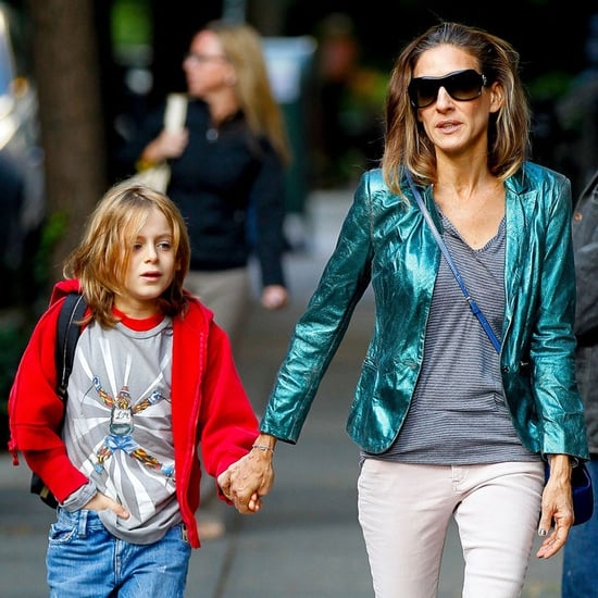 Sarah Jessica Parker Walks With Son James Wilkie Broderick