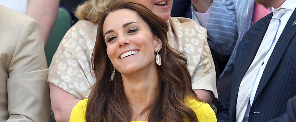 These Smiley Photos of Kate Middleton at Wimbledon Could Easily Double as Toothpaste Ads