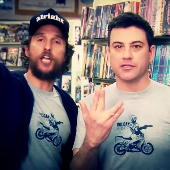 Matthew McConaughey and Jimmy Kimmel in Video Store Ads