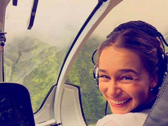 Emilia Clarke Takes to the Sky in Kauai, Bella Thorne and Jared Leto Commune with Nature and More Celeb Vacations