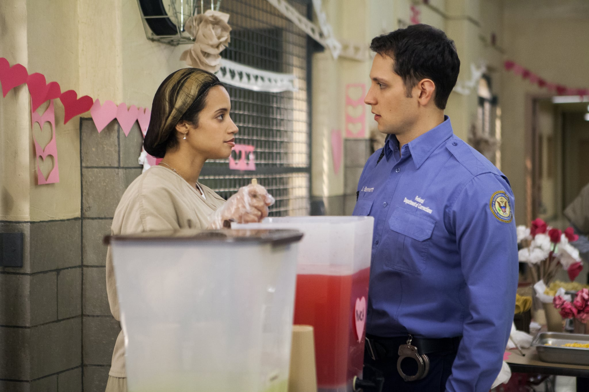 daya and bennett refresh yourself on how orange is the