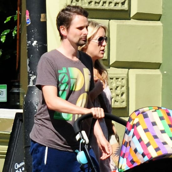 Kate Hudson Walking in London With Matthew Bellamy