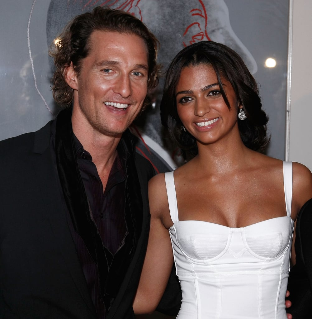 Matthew McConaughey and Camila Alves made a gorgeous couple at the launch of Dolce & Gabbana's new fragrance Launch at NYC's Gramercy Park Hotel in December 2007.
