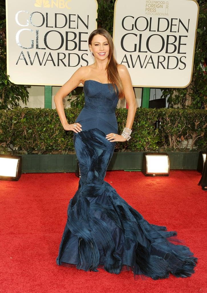 Sofia Vergara at the Golden Globes.