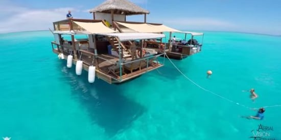 Floating Pizzeria Off The Coast Of Fiji Is An Actual Slice Of Heaven