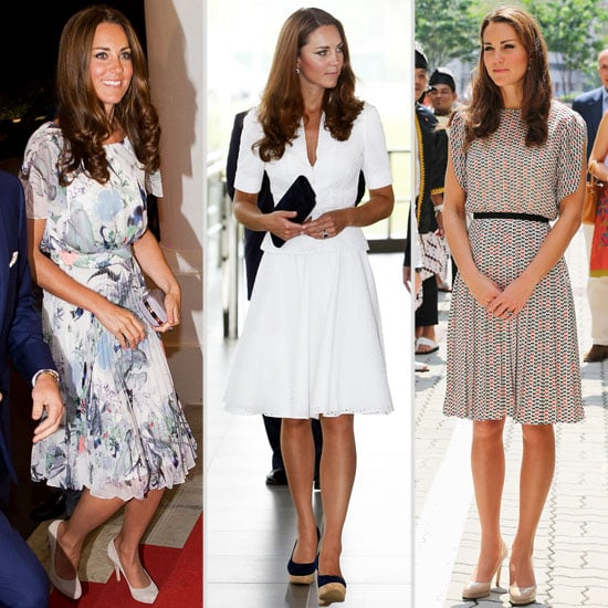 Day By Day Style Stalk of Kate Middleton's Royal Diamond Jubilee Tour of Singapore: Day Two Gave Us Alexander McQueen!